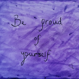 Be proud of yourself - Vijaya Ramnawaz